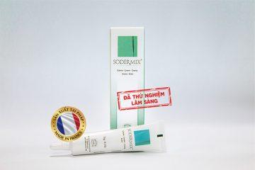 Sodermix có tác dụng giảm các triệu chứng ngứa ngáy và hỗ trợ điều trị thâm sẹo để lại